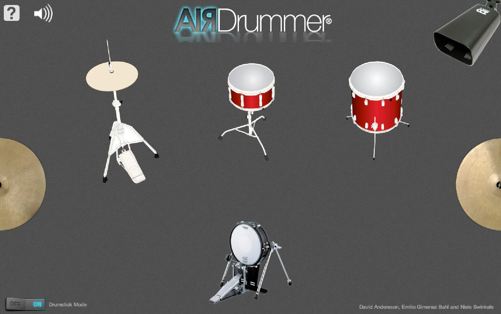 airdrummer screen